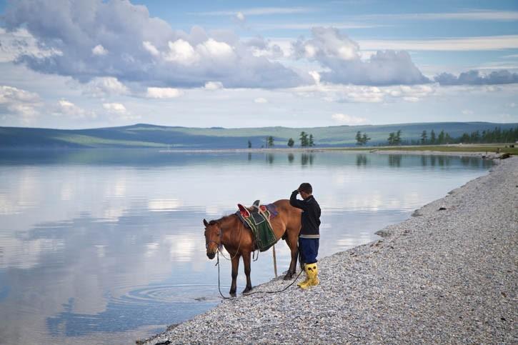 Découverte du Lac Ogii