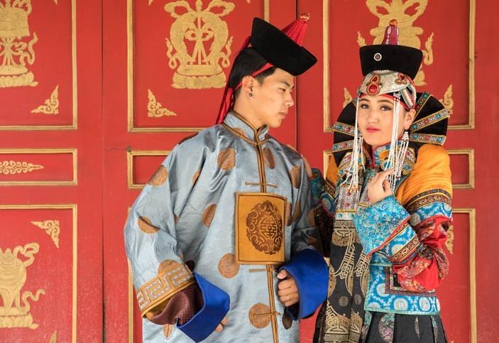 Tenue traditionnelle mongole