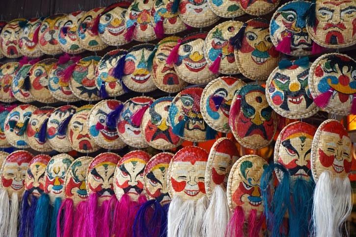 Masques asiatiques