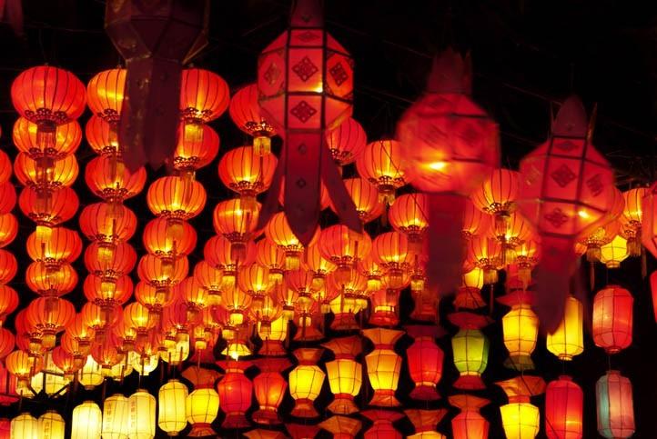 Découverte d'une fabrique de lanterne taiwanaise