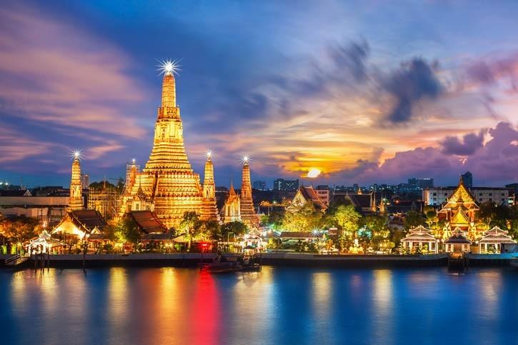 Visite de Bangok