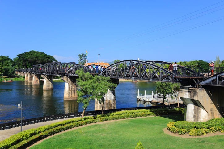 Découverte du Pont de la Rivière Kwai