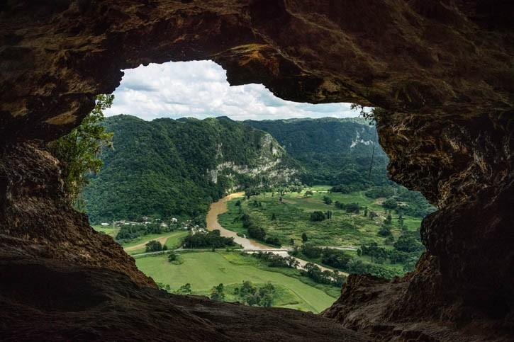 Découverte de la Cueva Ventana